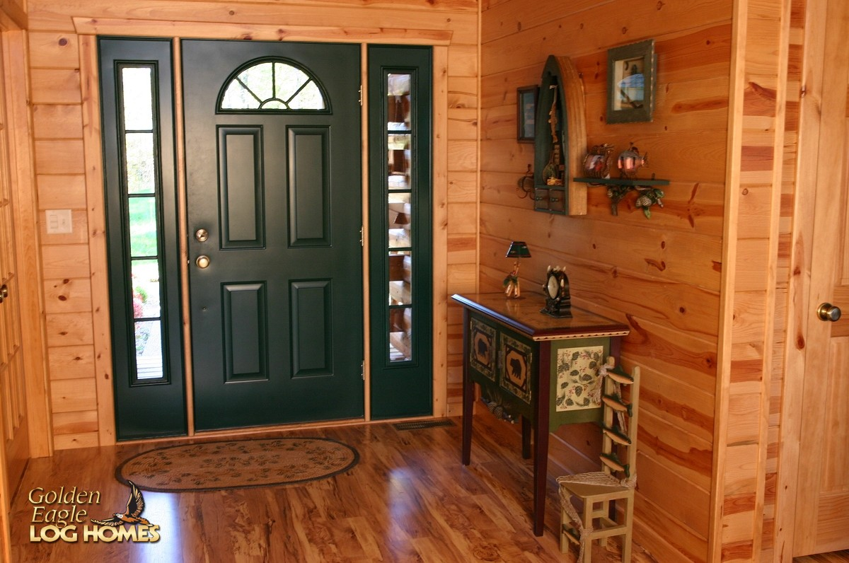 Houzz Front Doors Golden Eagle Log And Timber Homes: Log Home / Cabin