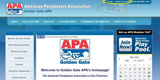 How to View APA Stats - how to make a league schedule