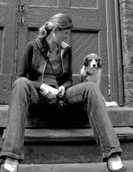 Susanne with Nelleke in Toronto, ON