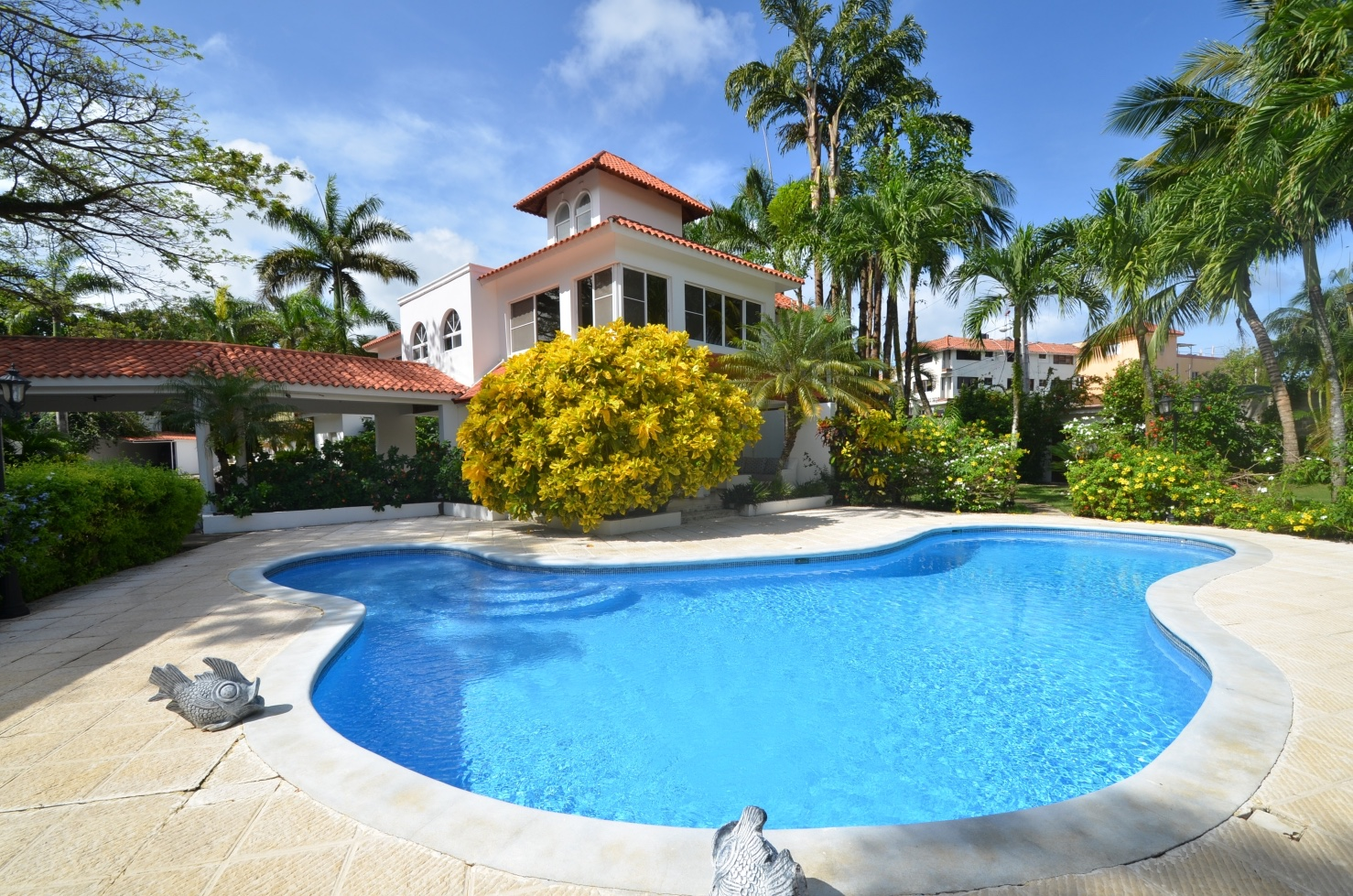 Jacuzzi Pool Villa Bandos 9 Bedroom Villa Rental Jacuzzi Private Pool Sosua