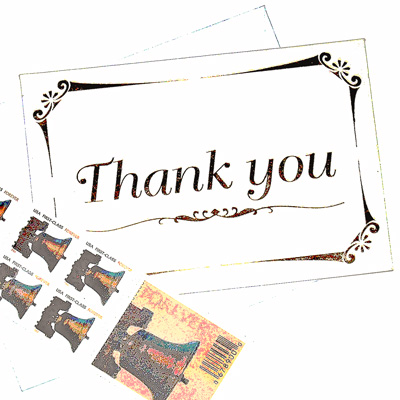 Thank You\ - thank you letters