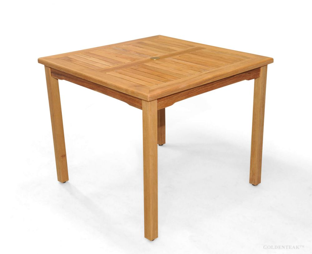 Buy Square Bistro Teak Table 36