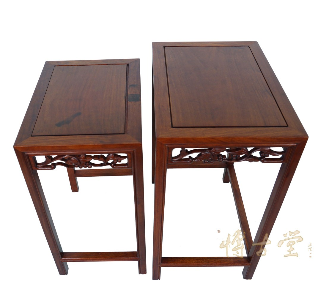 Asian Nesting Tables Chinese Antique Carved Rosewood Nesting Table Set 14lp49