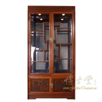 Chinese Antique Rosewood Display/Curio Cabinet 17LP03 ...