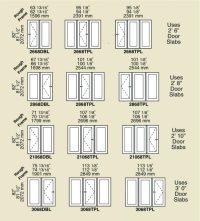 Windows & Door Sizes & Shapes