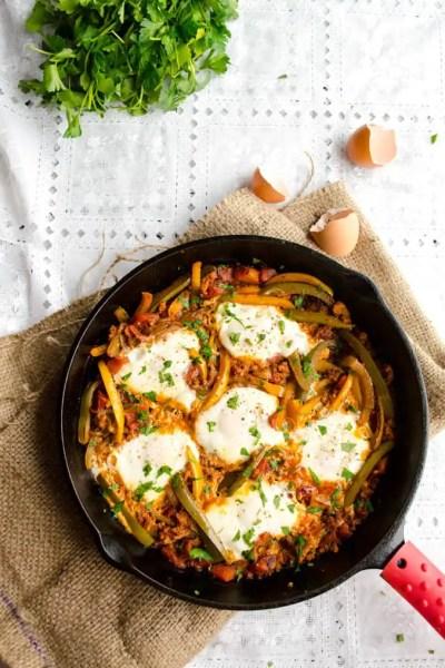 Egg and Chorizo Skillet Supper