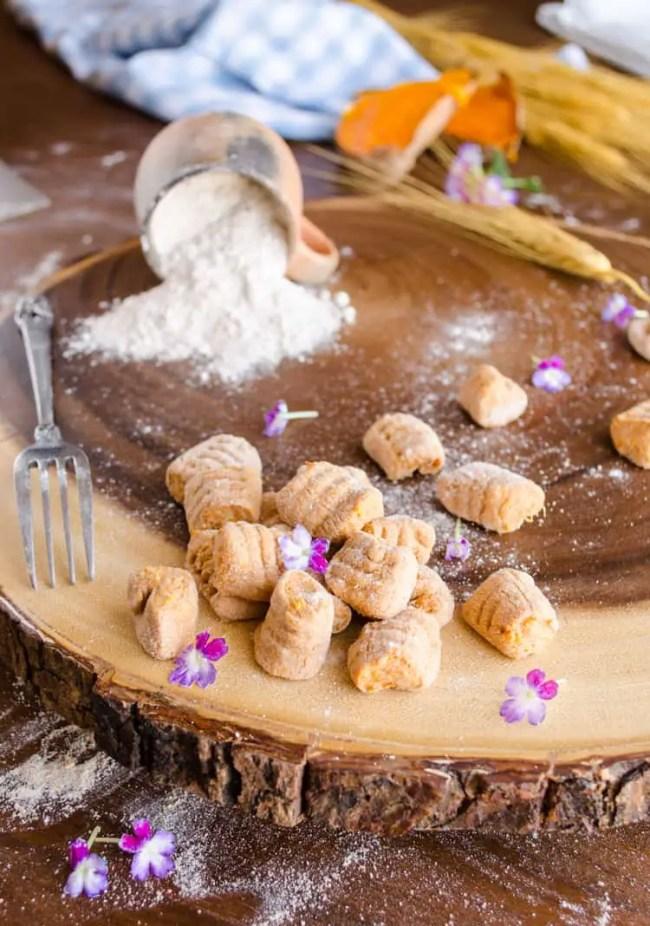 Whole Wheat Sweet Potato Gnocchi • The Goldilocks Kitchen