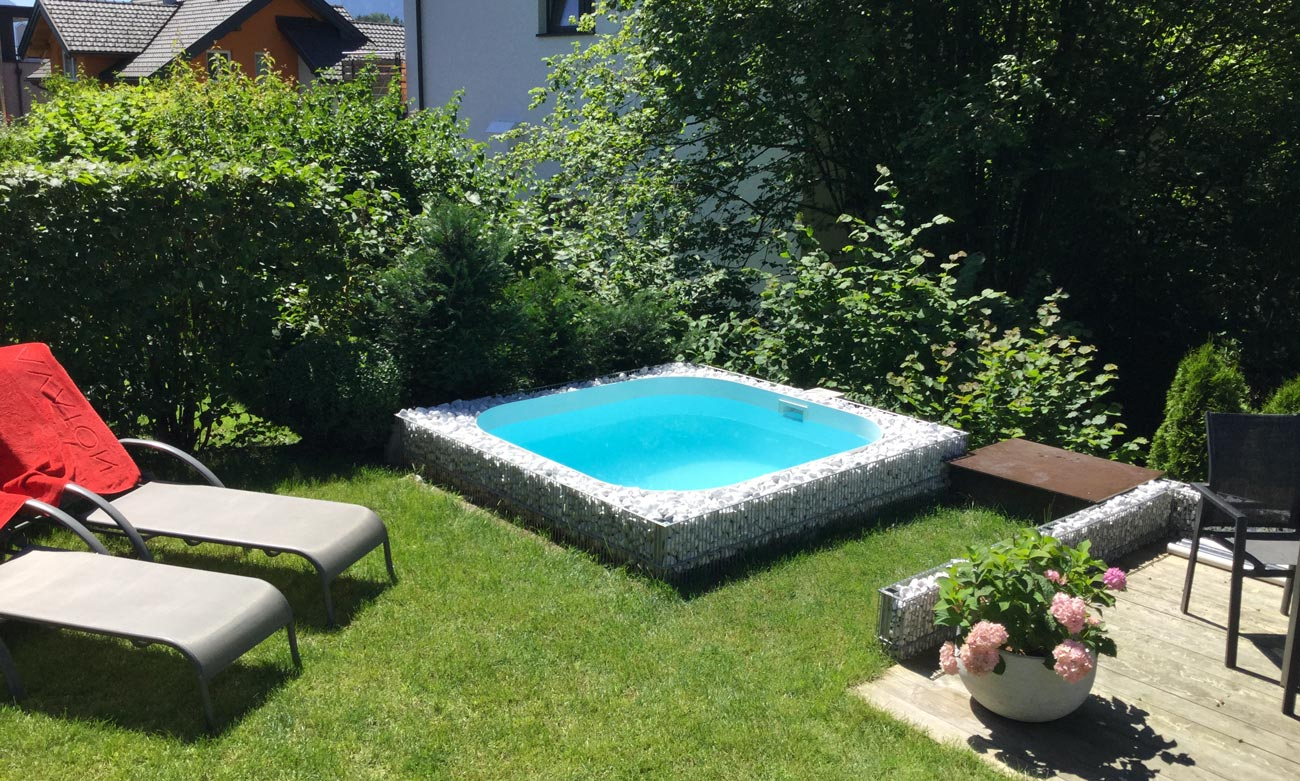 Kleiner Gfk Pool Minipools - Goldmann Pools & Wellness