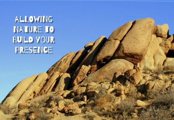 Allowing Nature to Build Your Presence