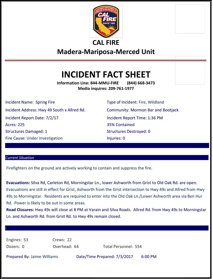 calfire incident report - Intoanysearch - fire investigation report