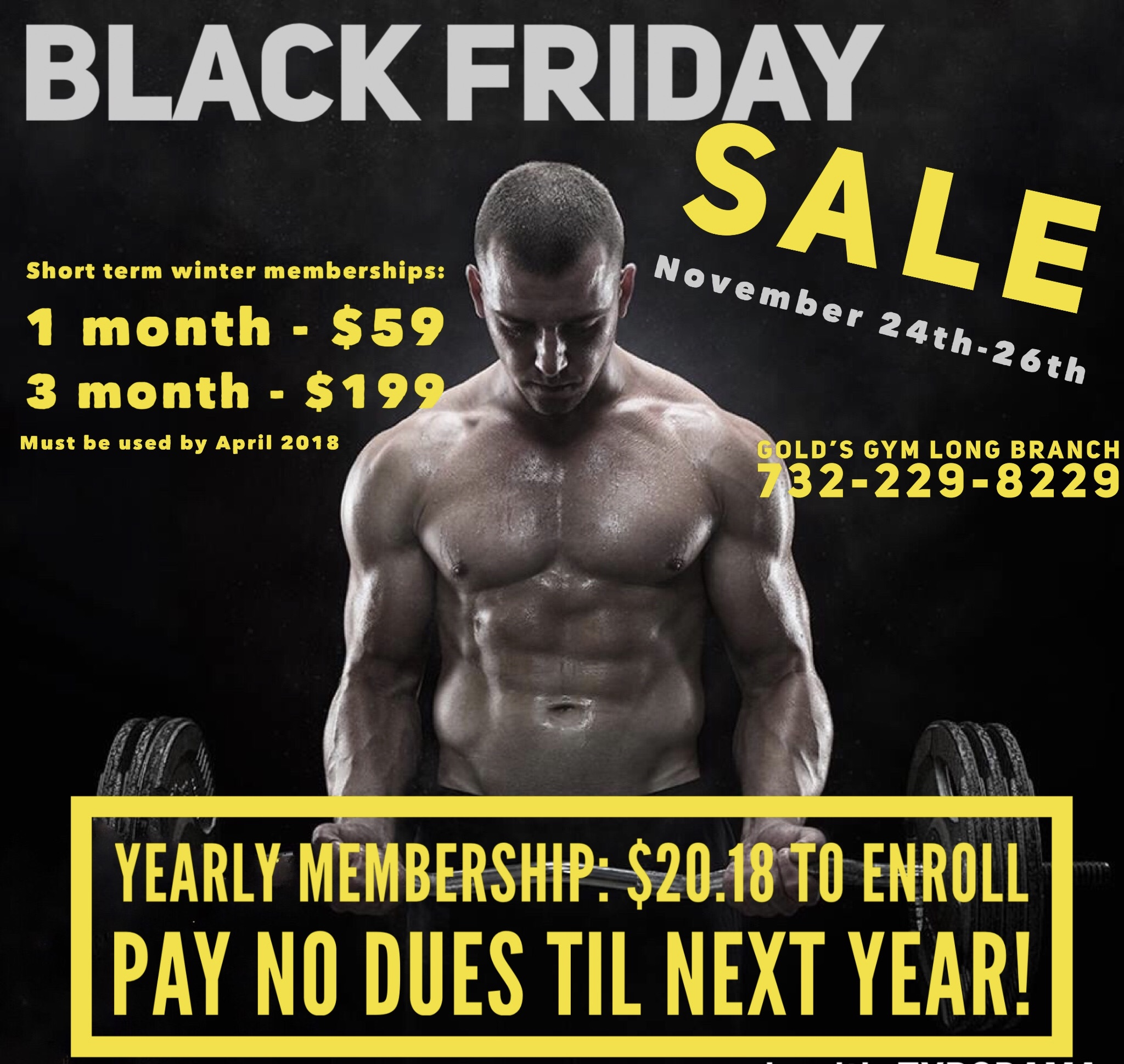 Www Black Friday Black Friday Membership Sale Long Branch
