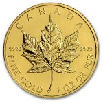 Canada Gold Maple Leaf Coin