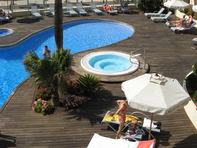 golf-hotel-baleares-marina-luz-Cala-piscina
