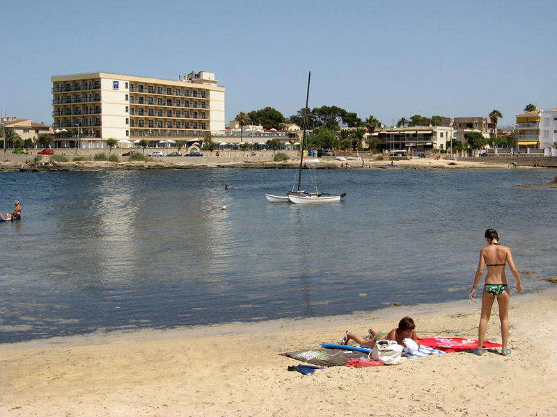 golf hotel majorque marinaluz Cala Estancia