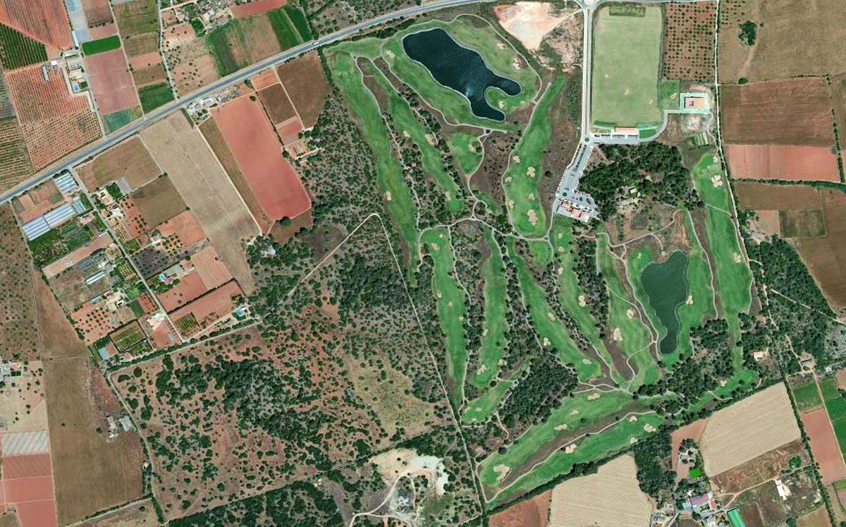 golf park mallorca puntiro map course