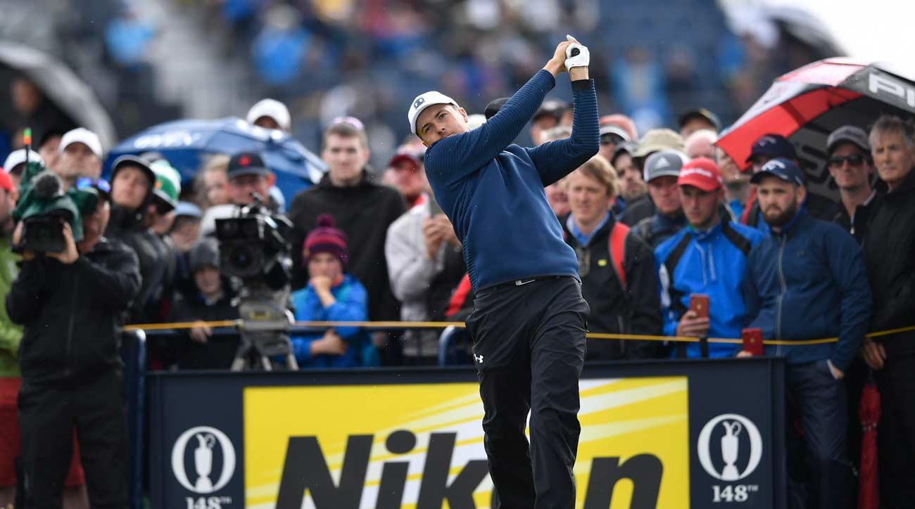 british open golf tee times saturday
