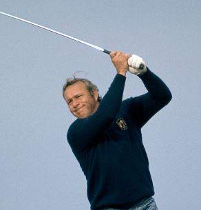 Arnold Palmer At the 1973 Ryder Cup - Muirfield