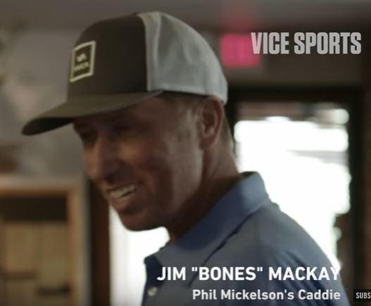 Bones Mackay Gives Advice On The Basics of Caddying