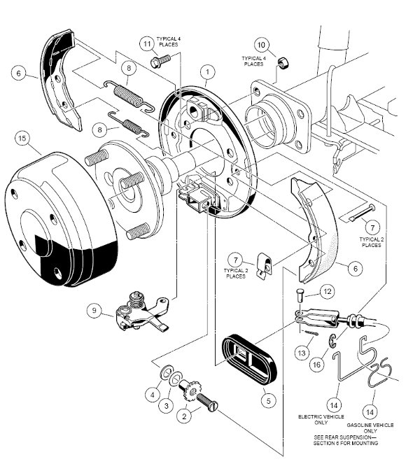 accelerator pedal assembly electric vehicle