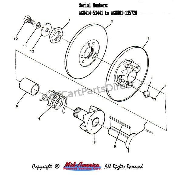 ezgo golf cart drivetrain diagram