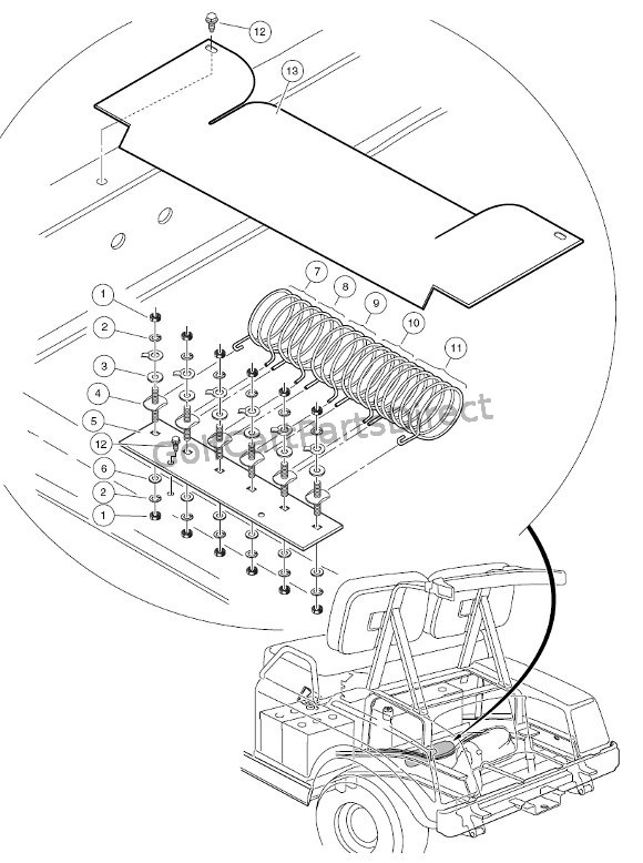 club car assembly diagram