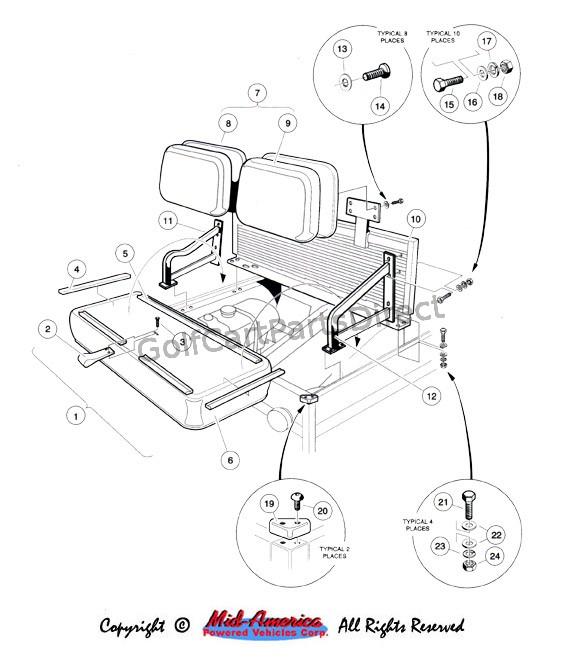 golf cart wiring diagram likewise columbia par car golf cart wiring