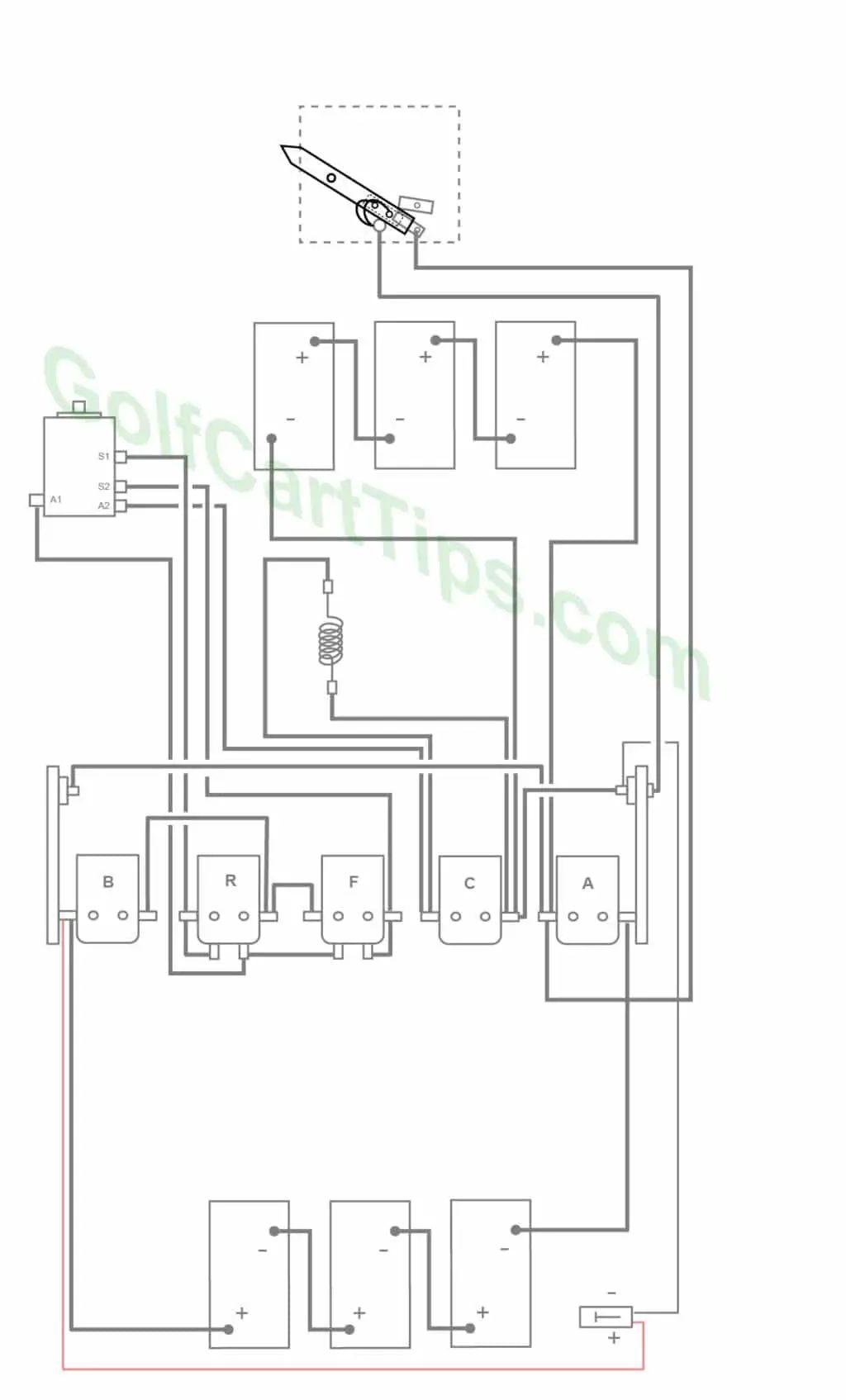 82 club car wiring diagram