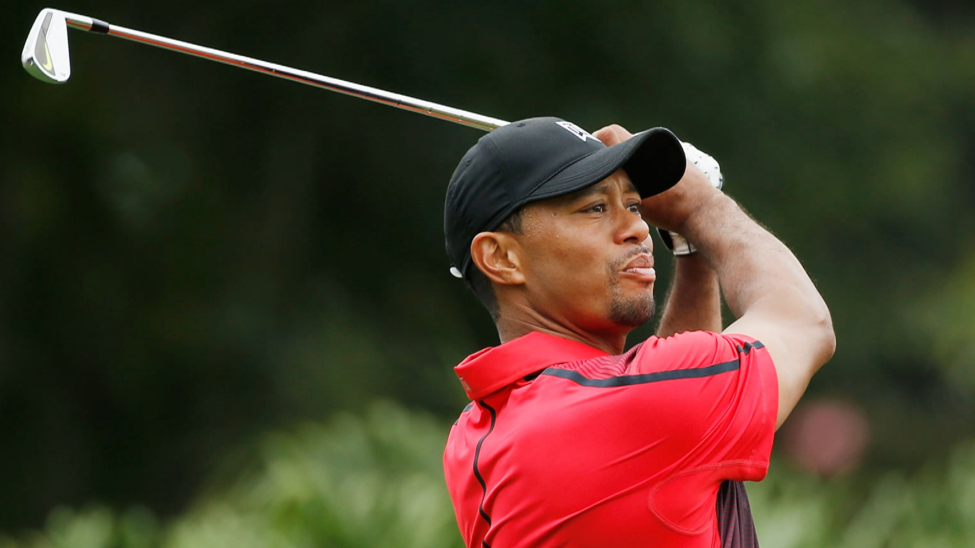 tiger woods results this weekend