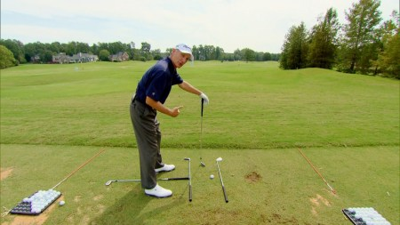Golf Drill Shoulder Turn