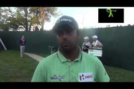 Played well: Anirban Lahiri after R3, tied eighth