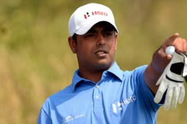 A fine performance saw Anirban Lahiri made a big move on Saturday to edge inside the top 20 at River Run