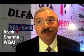 Vivek Sharma WGAI on Hero Women's Open