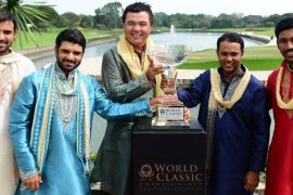 Chiragh Kumar leads a strong contingent of Indian golfers in Singapore