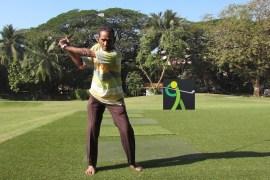 Golf in India: Ruda Vaji trains at the Willingdon Club
