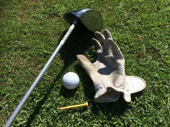 ゴルフシャフトに付いているシール、あなたはどうしてる?