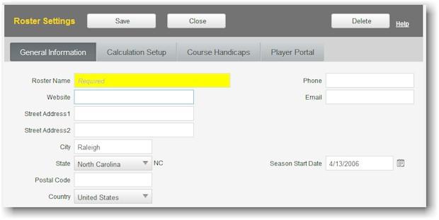 GolfSoftware Online