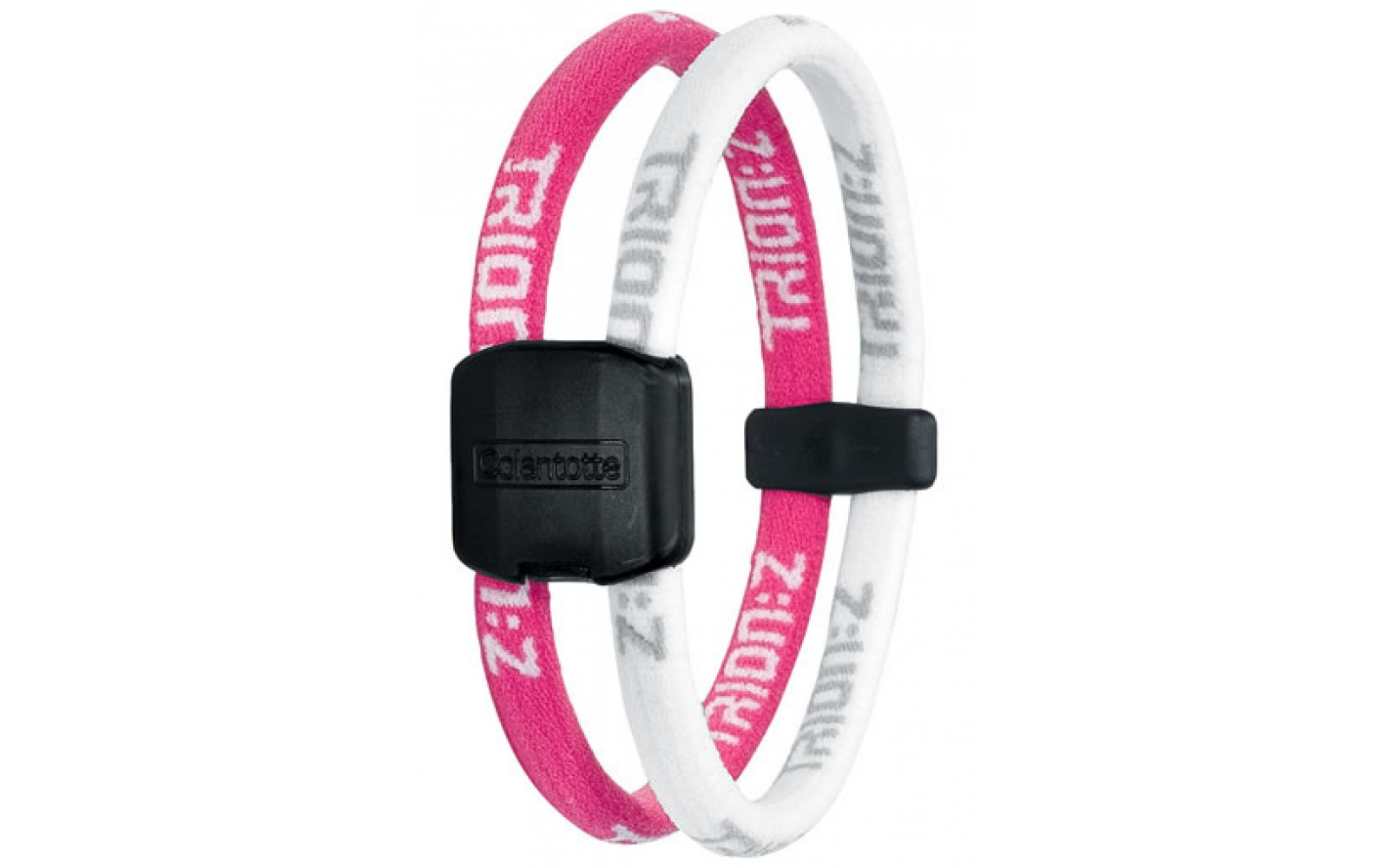 Magneet Armband Trion Z Magneet Armband Kleur Roze Wit Maat Small