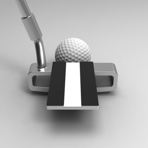 PnP PRL Putter back view | Golf Verified