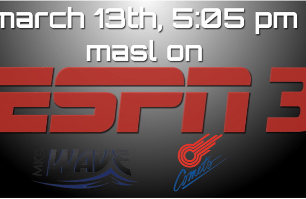 MASL Playoffs on ESPN 3 Milwaukee at Missouri 5:05pm ET