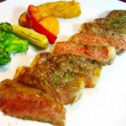 黒毛和牛のいちぼステーキ