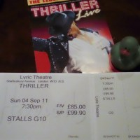 Lucky Duck in London: Michael Jackson Thriller Live
