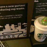 New Starbucks Reusable Cup and a New Vanilla Spice Latte