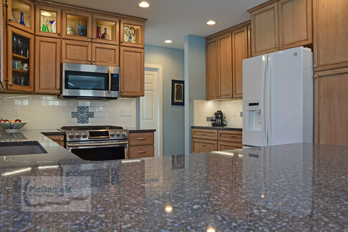 Kitchen Countertop Comparison Chart Counter Tops Mcdaniels Kitchen And Bath