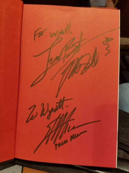 Richard Garriott & Tracy Hickman signed my copy