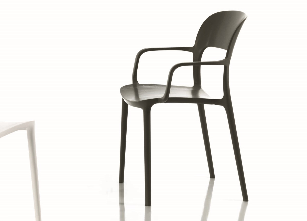 Bontempi Gipsy Dining Chair With Arms Contemporary Dining Chairs