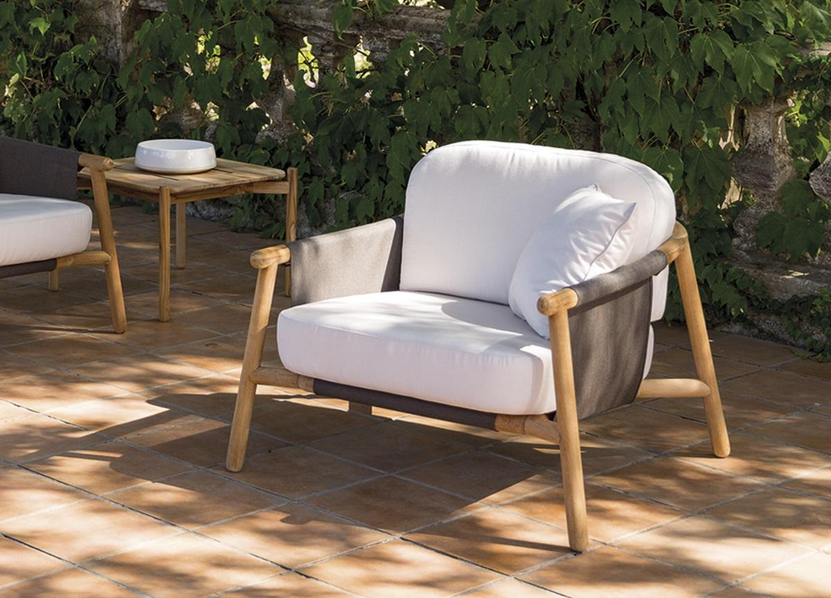 Hamp Garden Armchair Contemporary Garden Furniture At Go Modern