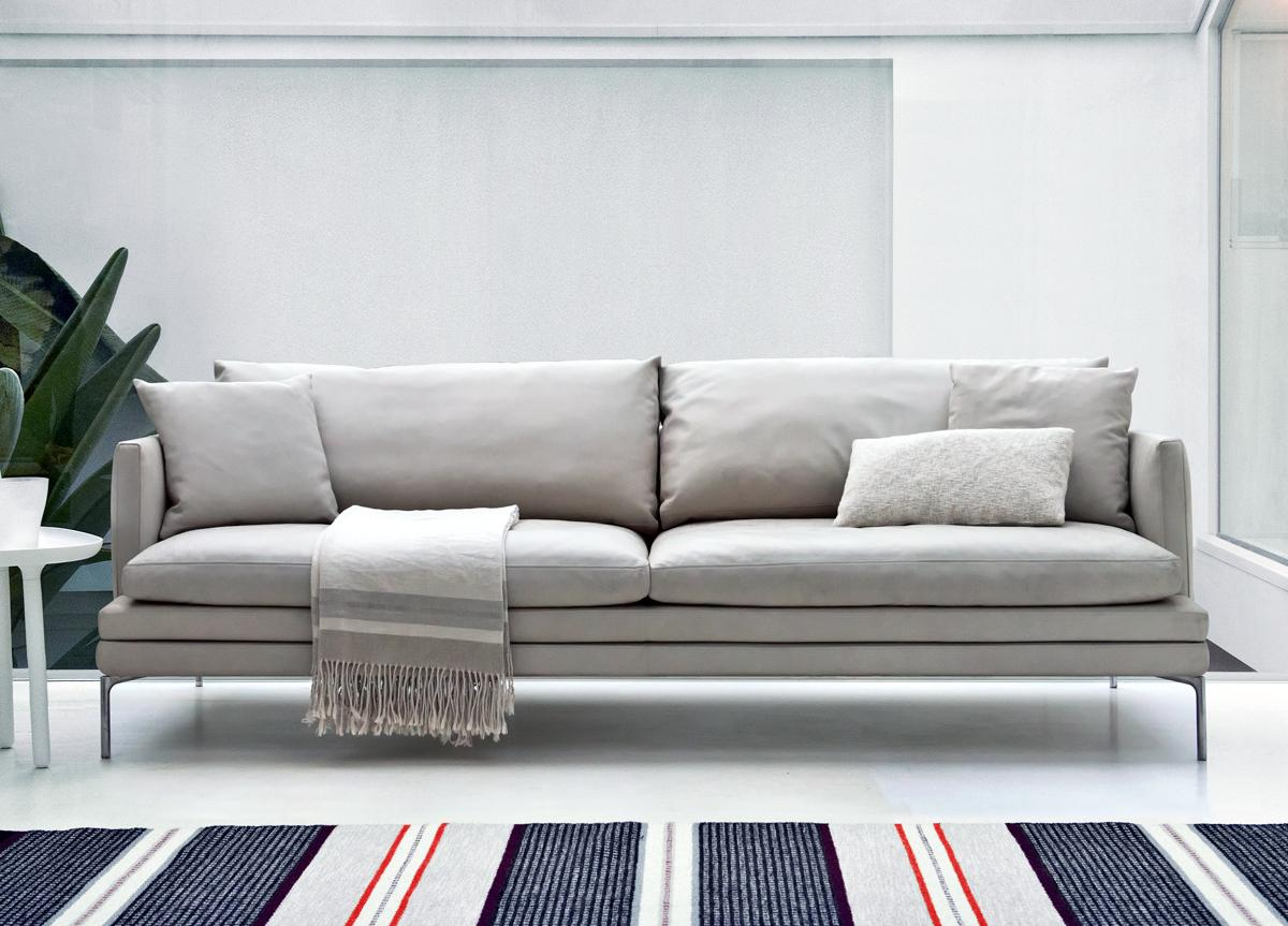 Designer Sofas Zanotta William Sofa | Zanotta Designer Furniture