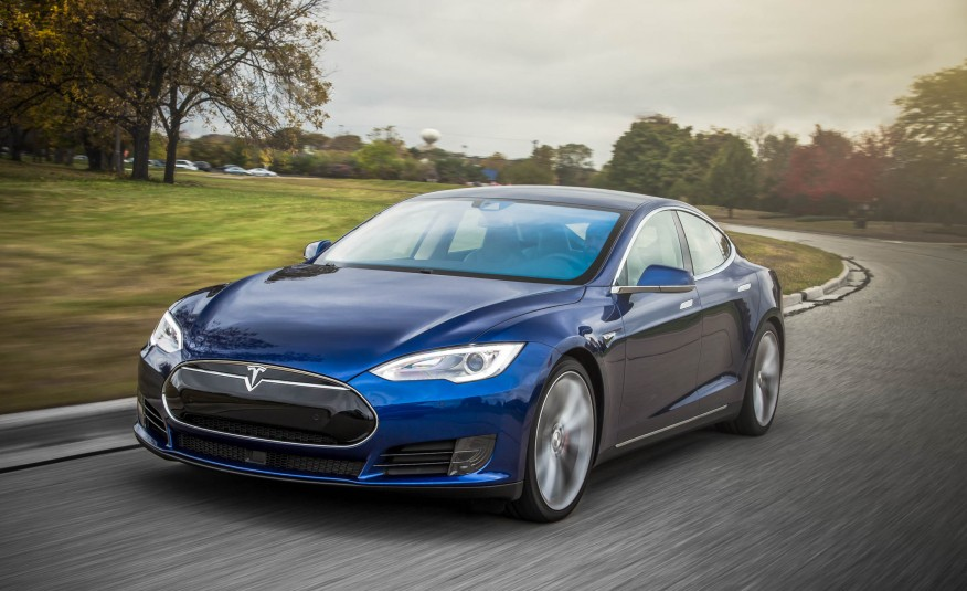 Car Parking Wallpaper 2015 Tesla Model S P90d Review