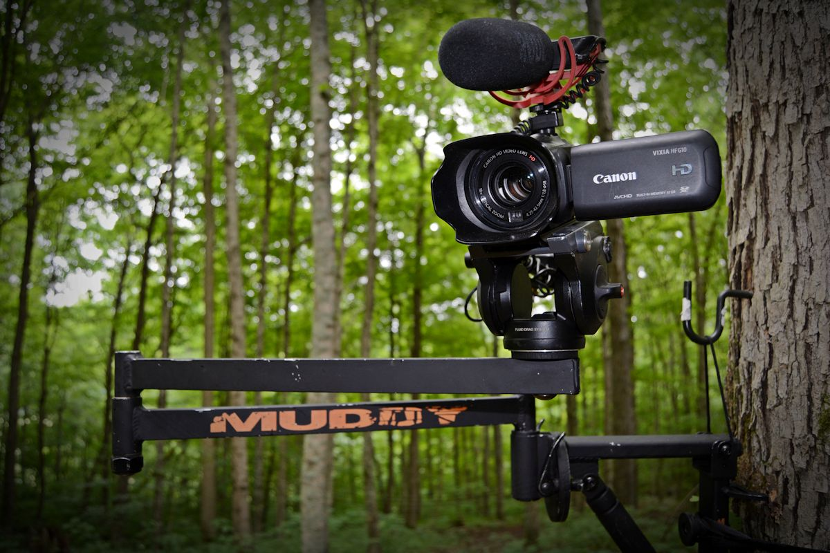 How To Make Your Own Tree Stand Which Camera To Buy For Filming Deer Hunts Muddy Outdoors