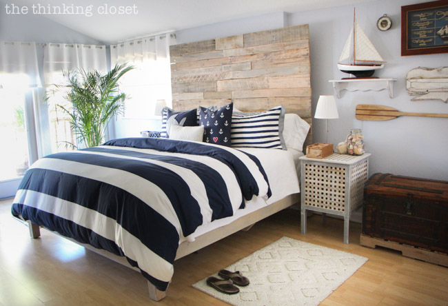 Sea- Inspired Interior Decorating Ideas, Captain of Your Own Ship Home - nautical bedroom ideas